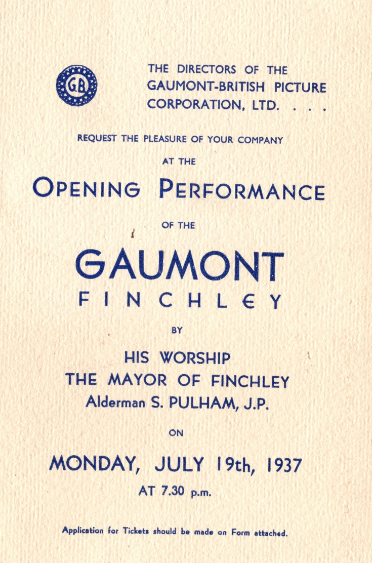 Gaumont, North Ficnhkey