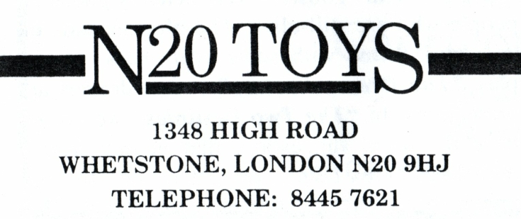 N20 Toys