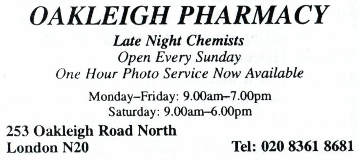 Oakleigh Pharmacy