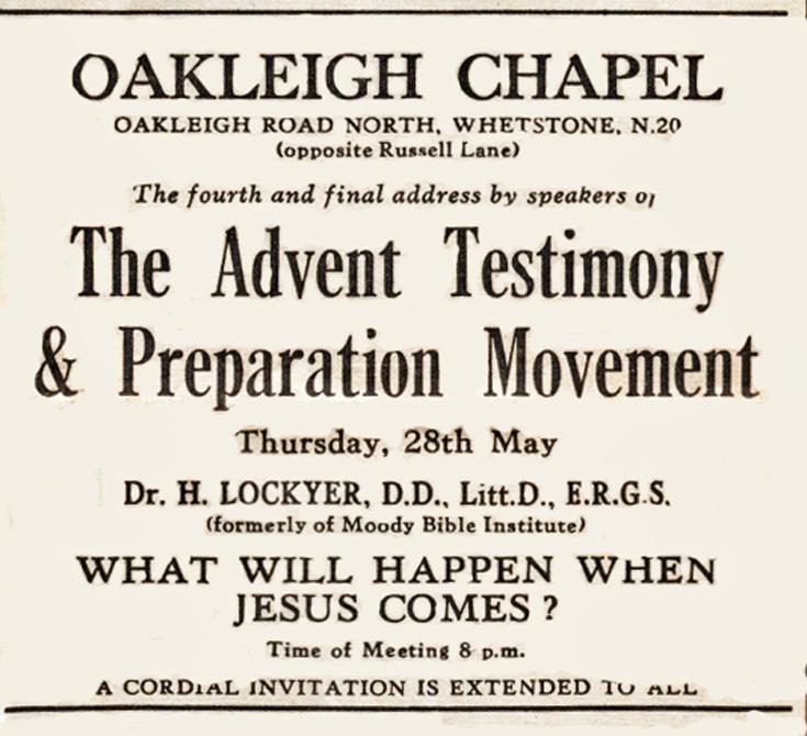 Oakleigh Chapel