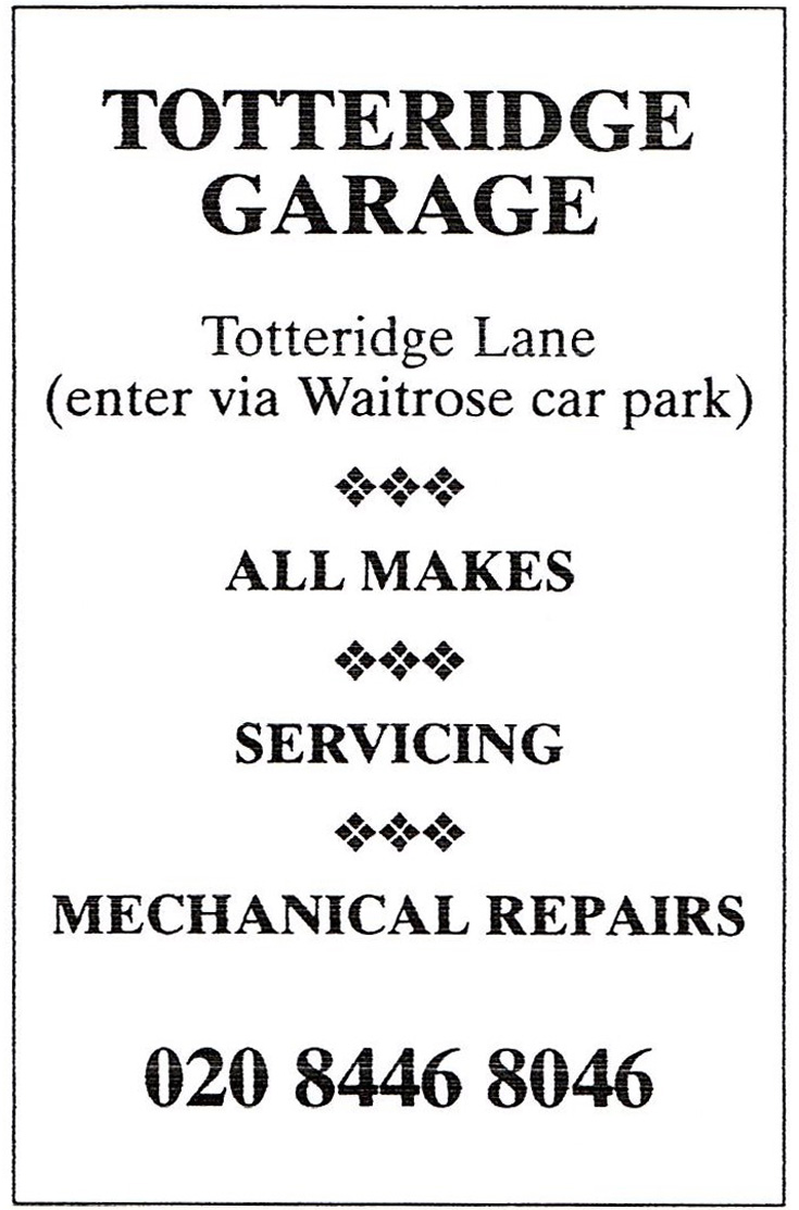 Totteridge Garage