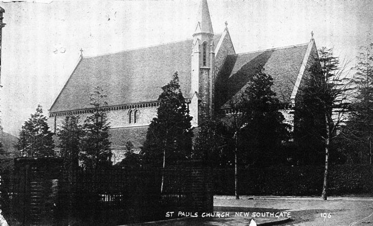St Pauls Church, Woodland Road, New Southgate