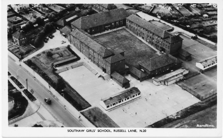 Southaw Girls School, Russell Lane