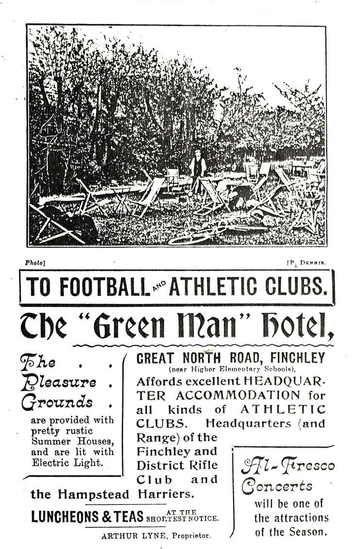 The Green Man Hotel