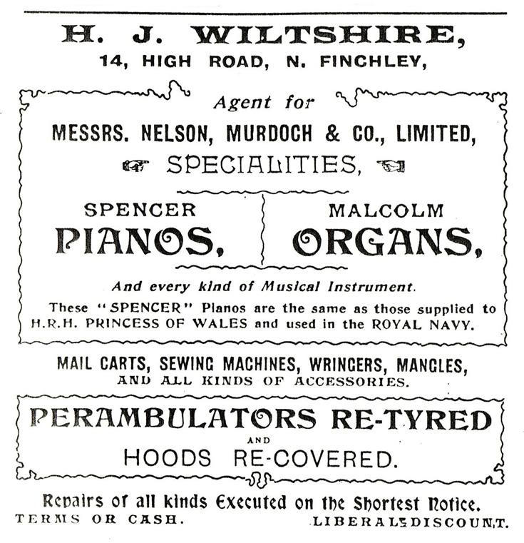 H J Wiltshire