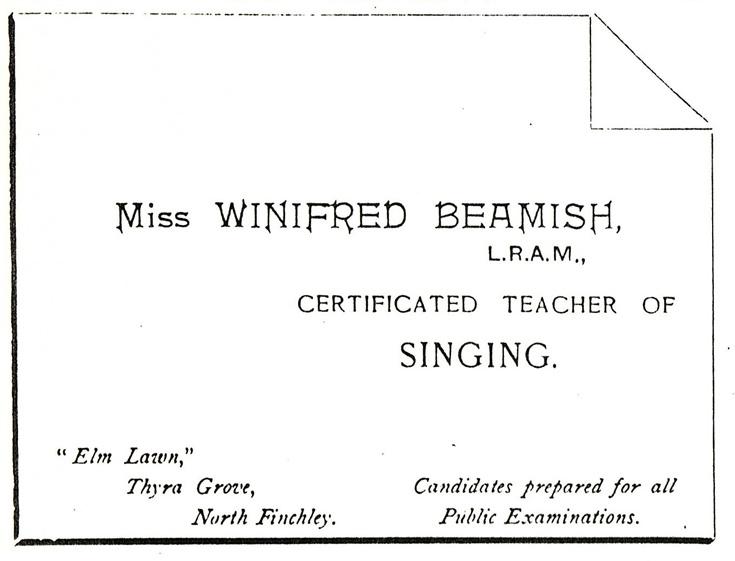 Winifred Beamish