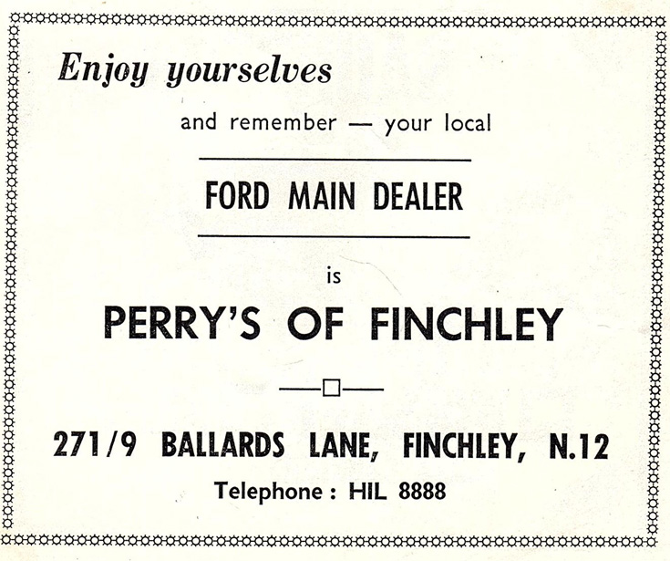 Perry's of Finchley