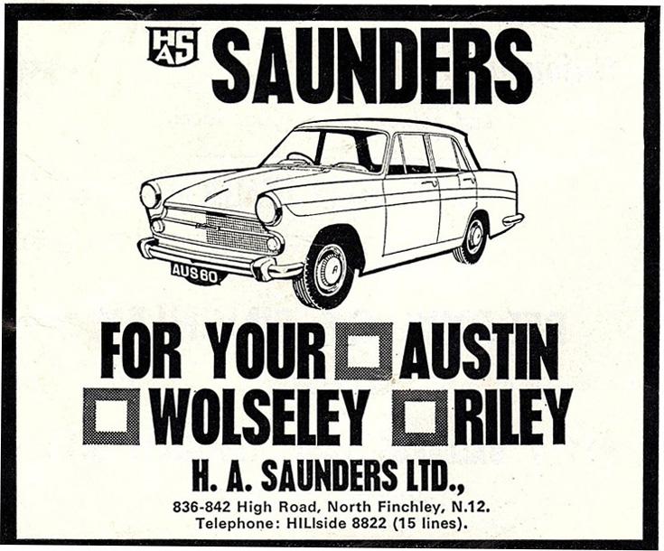 H a Saunders Ltd