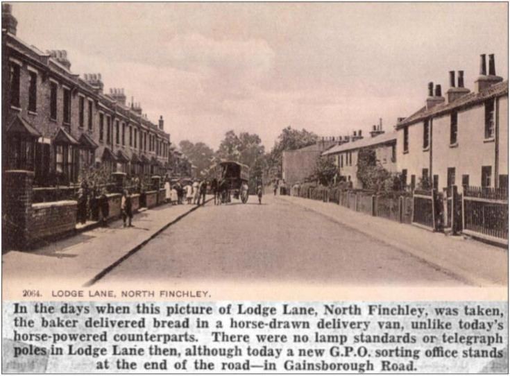 Lodge Lane, N12