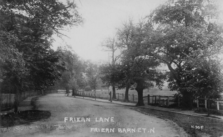 Friern Barnet Lane