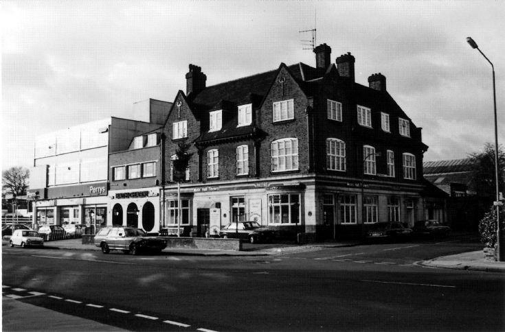 Moss Hall Tavern, Ballards Lane