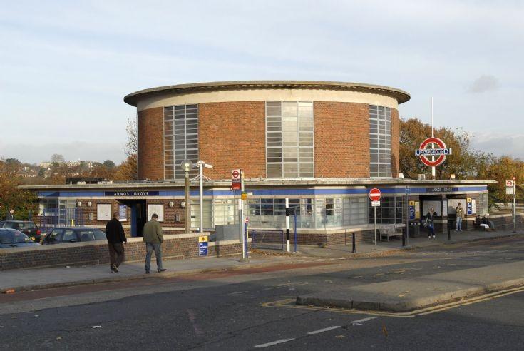 Arnos Grove Underground Station