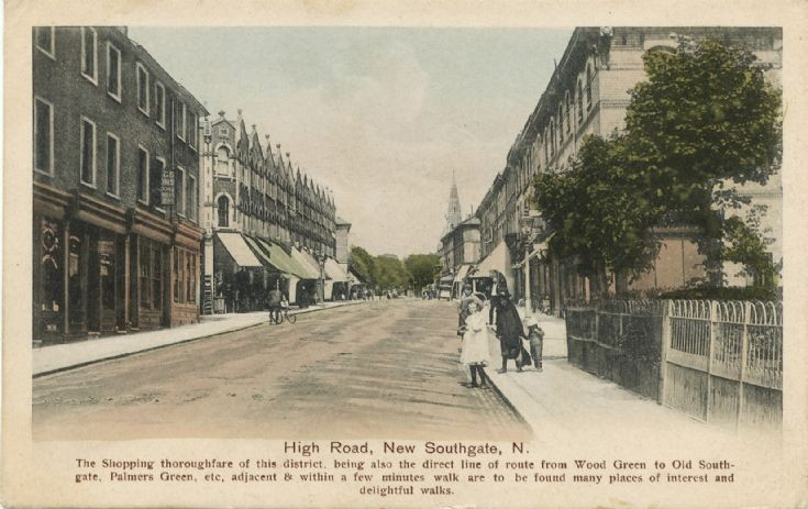 High Road, New Southgate