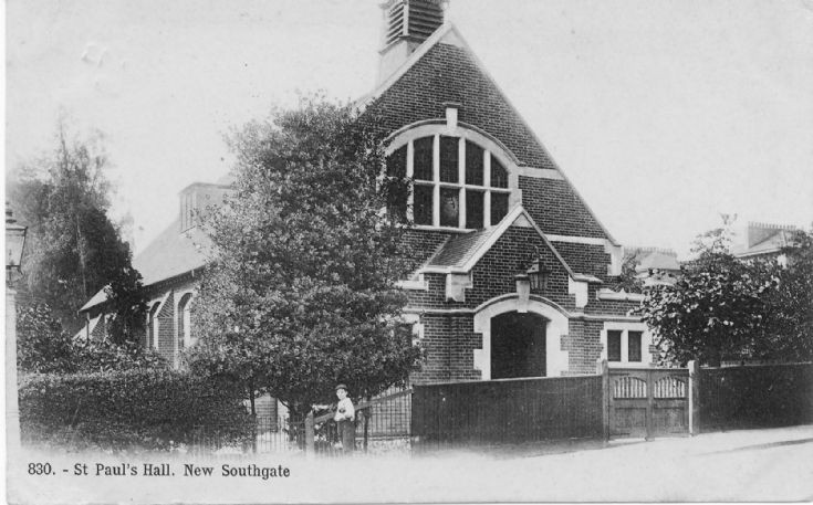St Paul's Church Hall, High Road, New Southgate