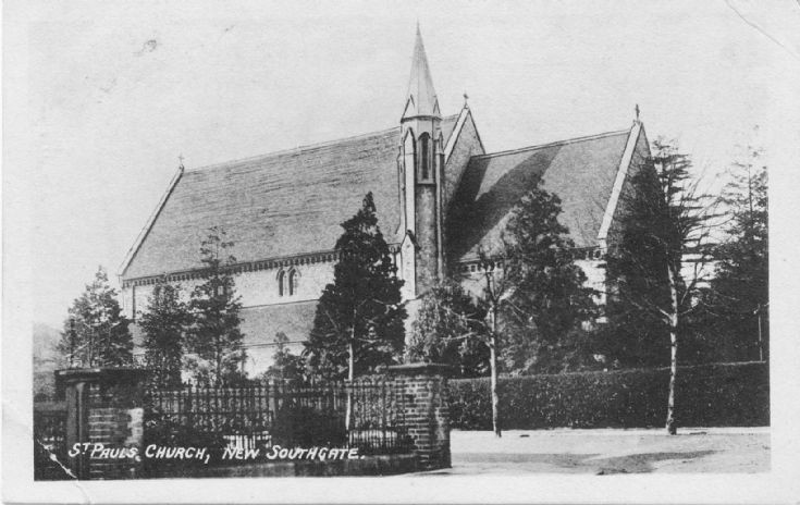 St Paul's Church, Woodland Road, New Southgate