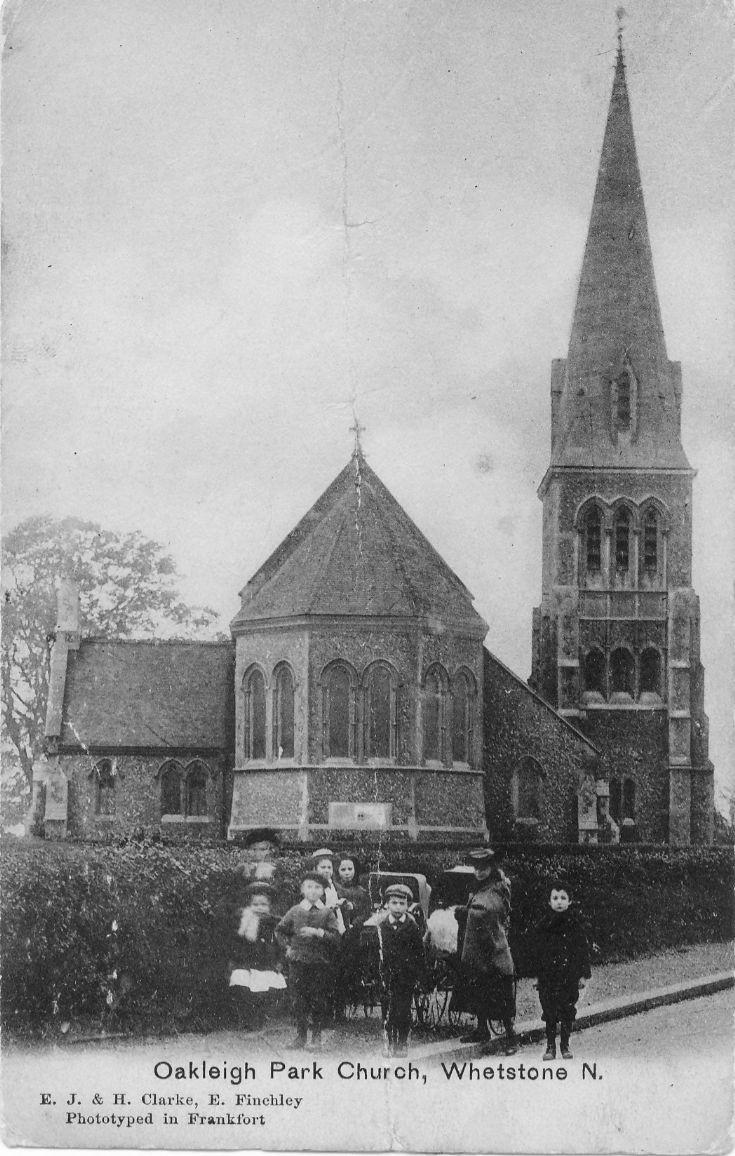 All Saints' Church, Oakleigh Road North