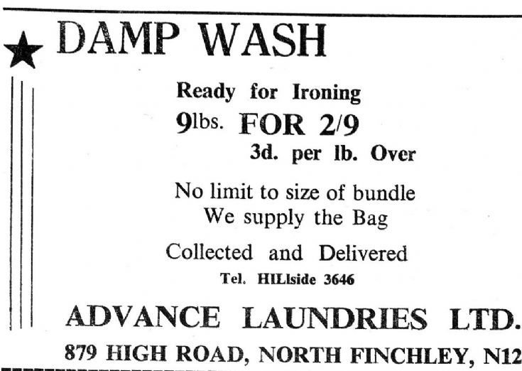 Advance Laundries Ltd