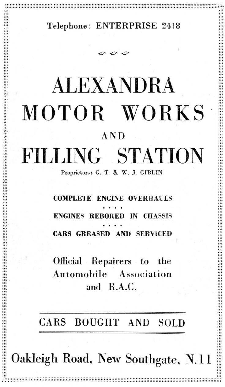 Alexandra Motor Works