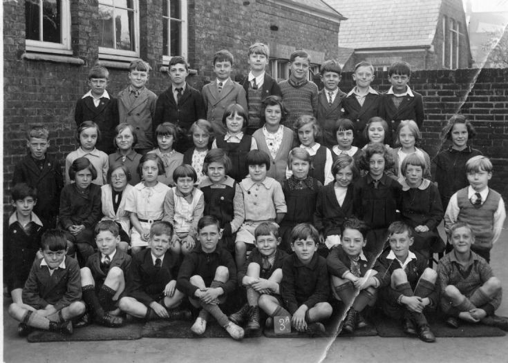 Garfield School, class 3a in c1933