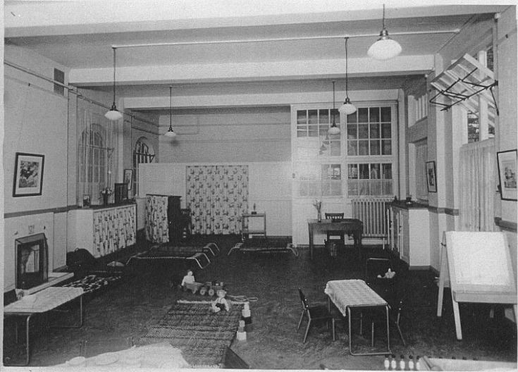 Garfield School Nursery (remember the beds!)