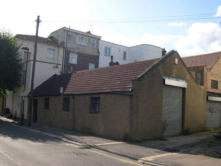 Former dairy and piano factory in Springfield Road