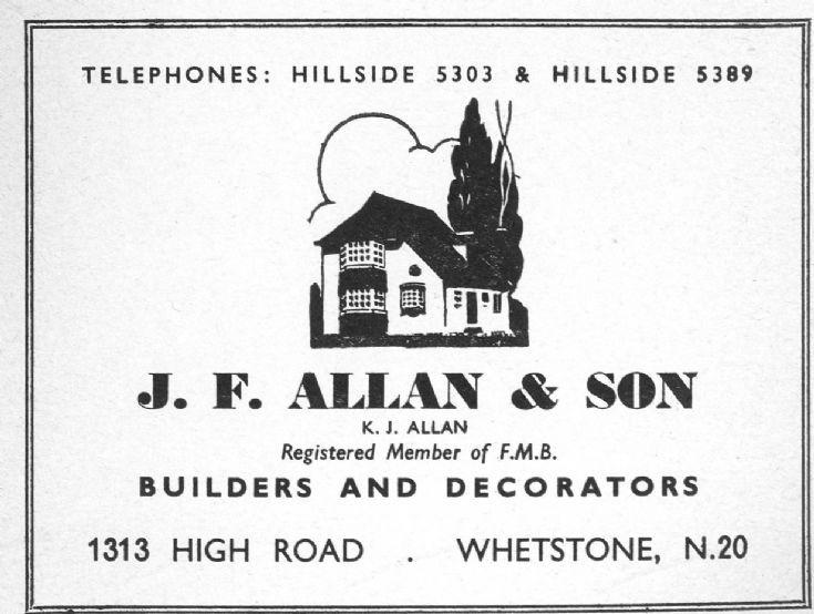 J F Allan