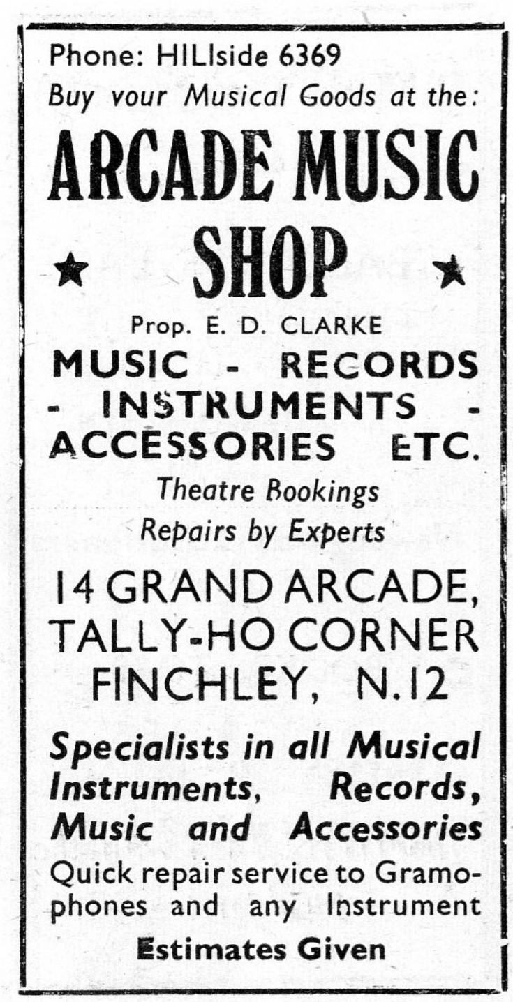 Arcade Music Shop