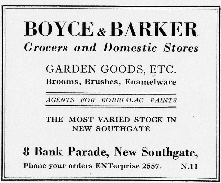 Boyce & Barker