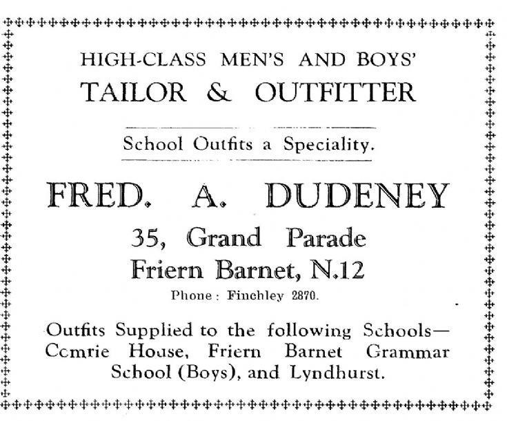 Fred A Dudeney