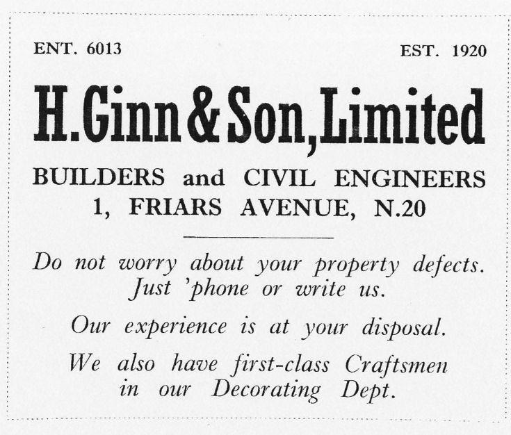 H Ginn & Sons