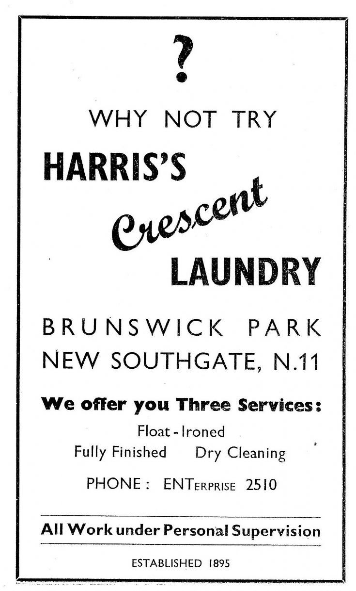 Harris's Crescent Laundry