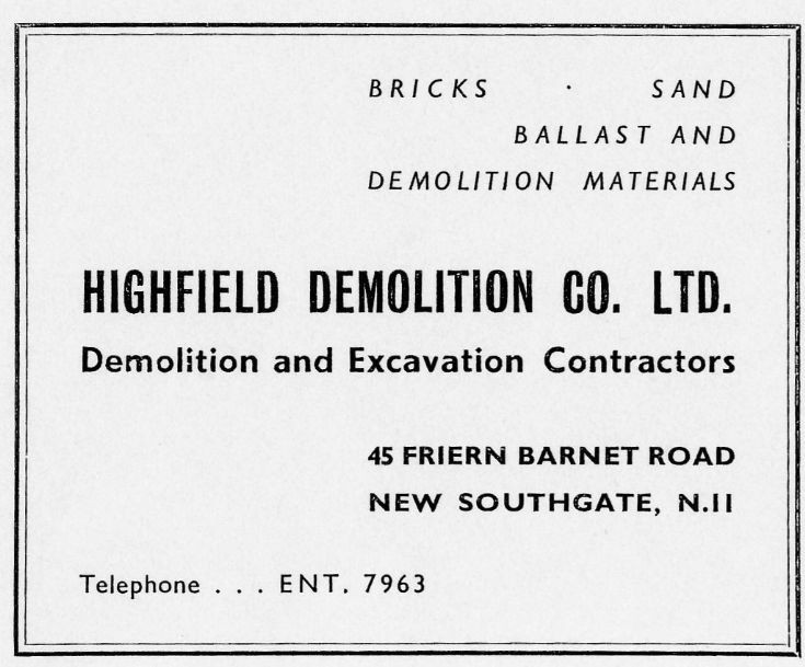 Highfield Demolition