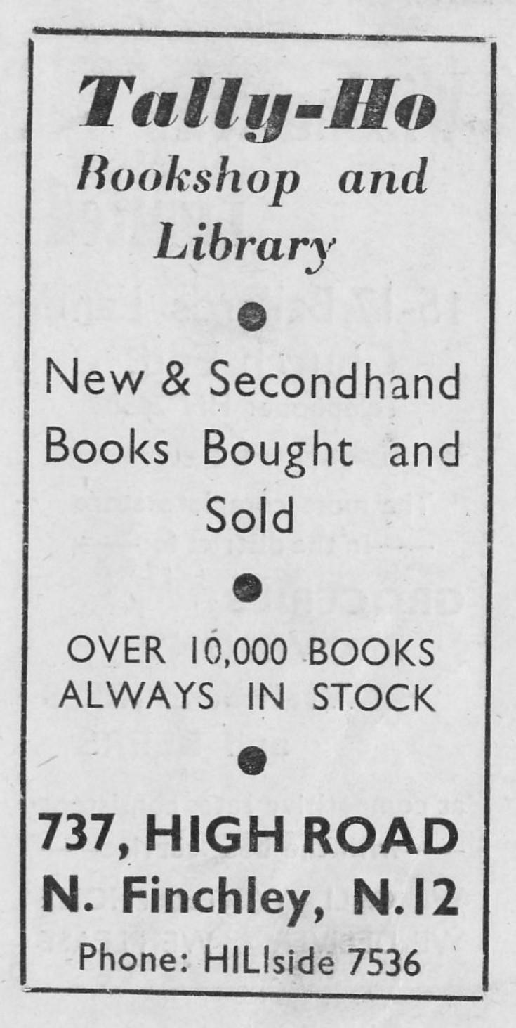 Tally Ho Bookshop