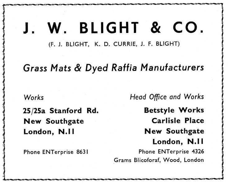 J W Blight