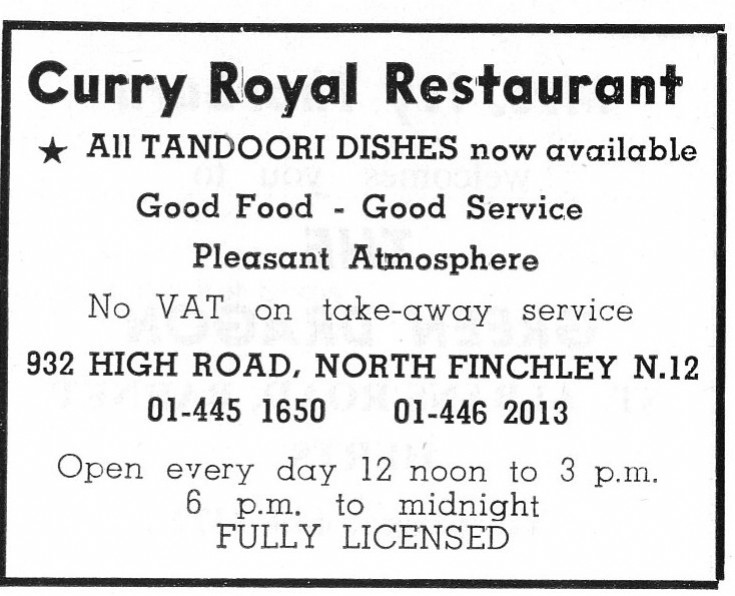 Curry Royal Restaurant