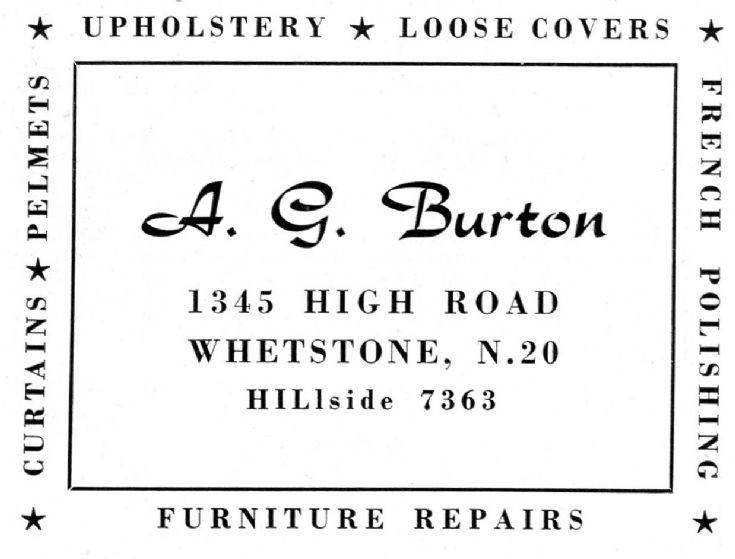 A G Burton