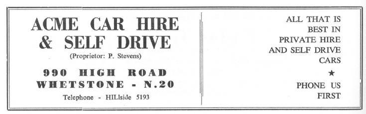 Acme Car Hire & Self Drive