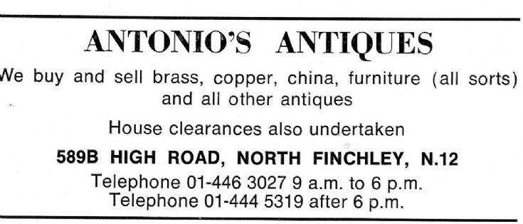 Antonio's Antiques