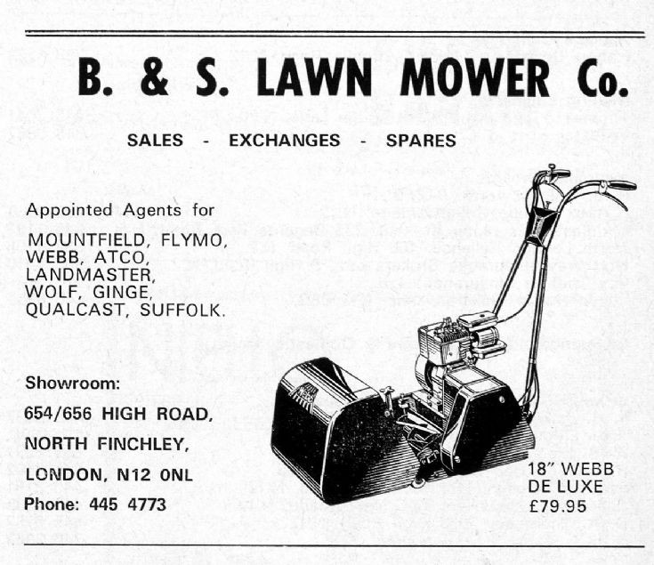 B & S Lawn Mower Co