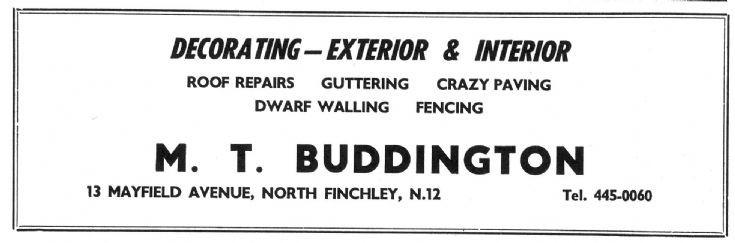 M T Buddington