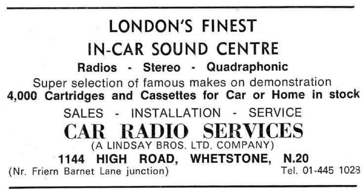 Car Radio Services