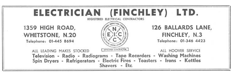 Electrician (Finchley) Ltd