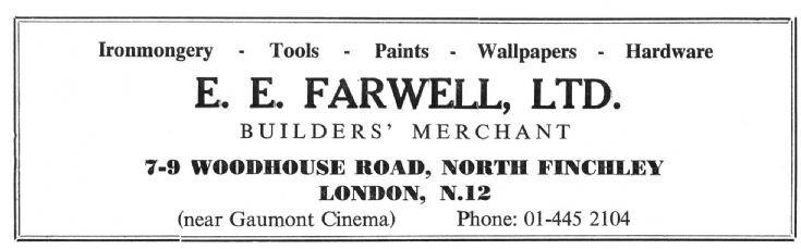E E Farwell