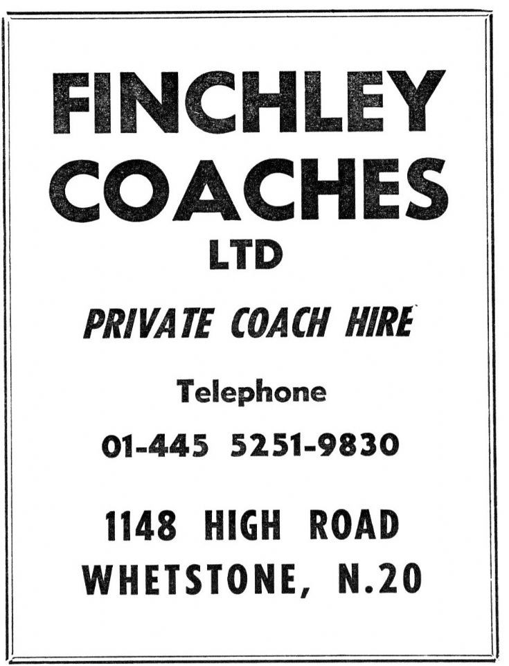 Finchley Coaches