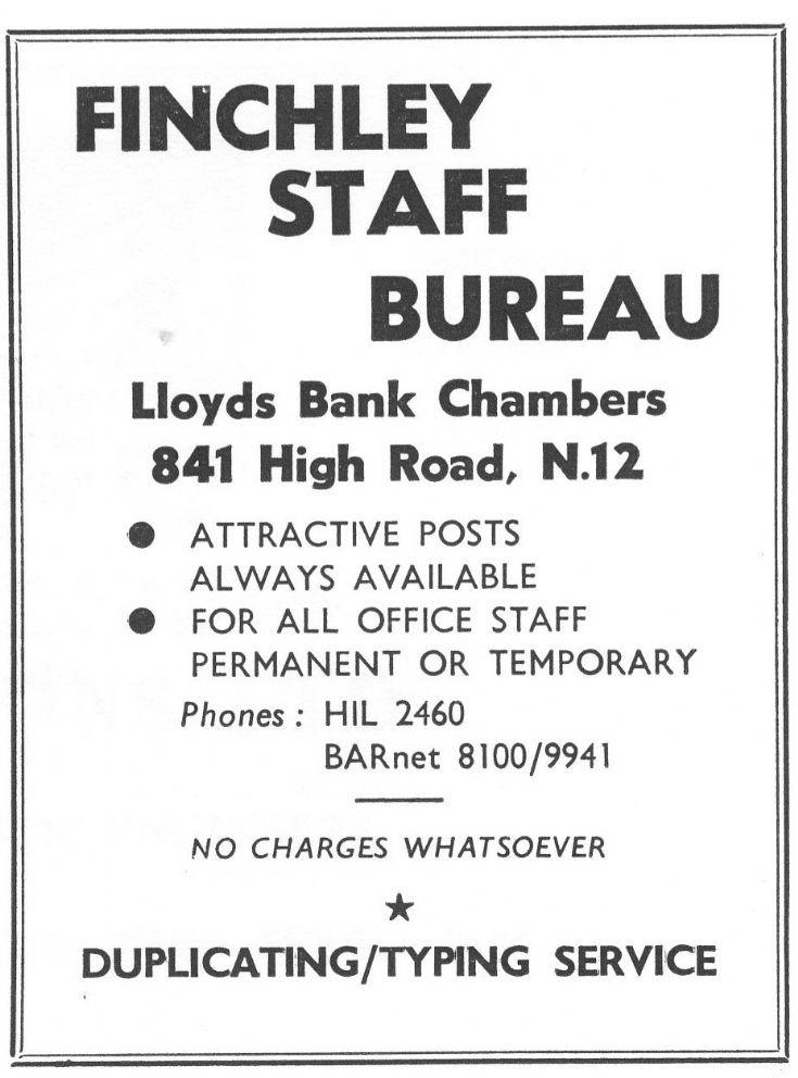 Finchley Staff Bureau