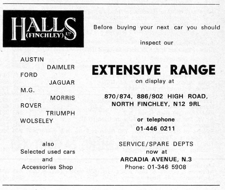 Hall's
