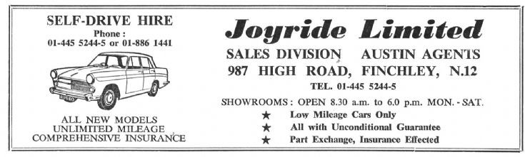 Joyride Ltd