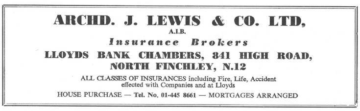 Archd Lewis