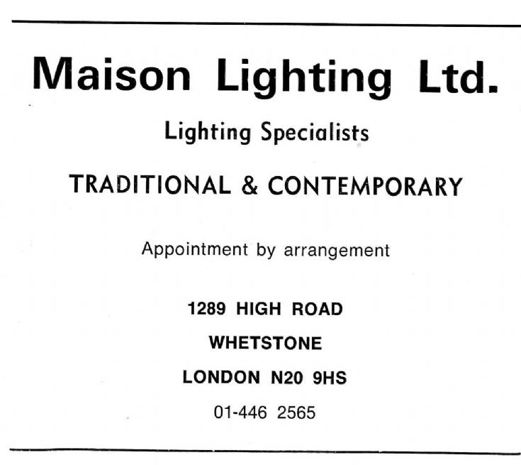 Maison Lighting Ltd