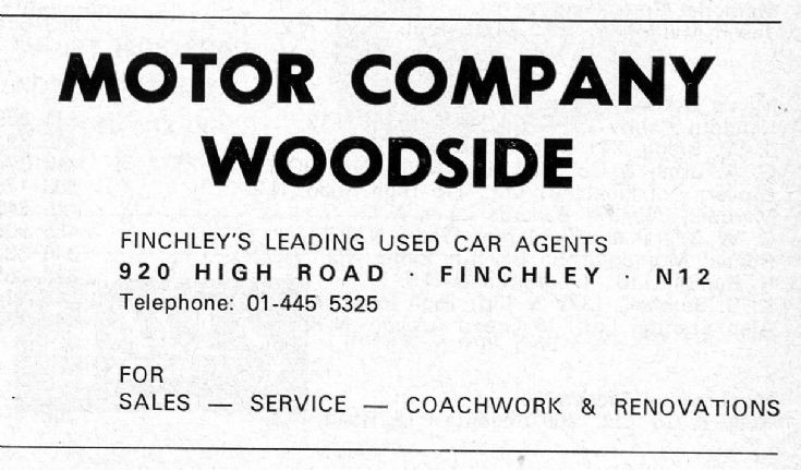 Motor Company Woodside